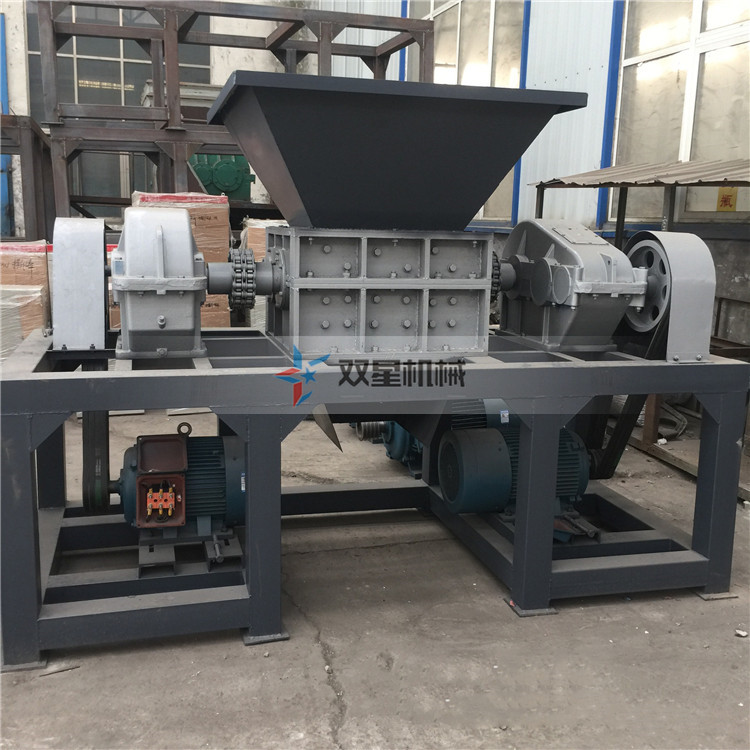 Double shaft shredding machine using reducer configuration need to know